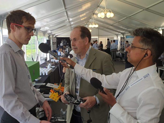 Leeds attends UKRAS International Robotics Showcase in London